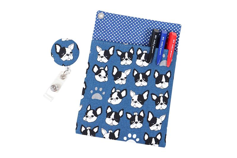 醫師袍口袋型筆袋+證件夾